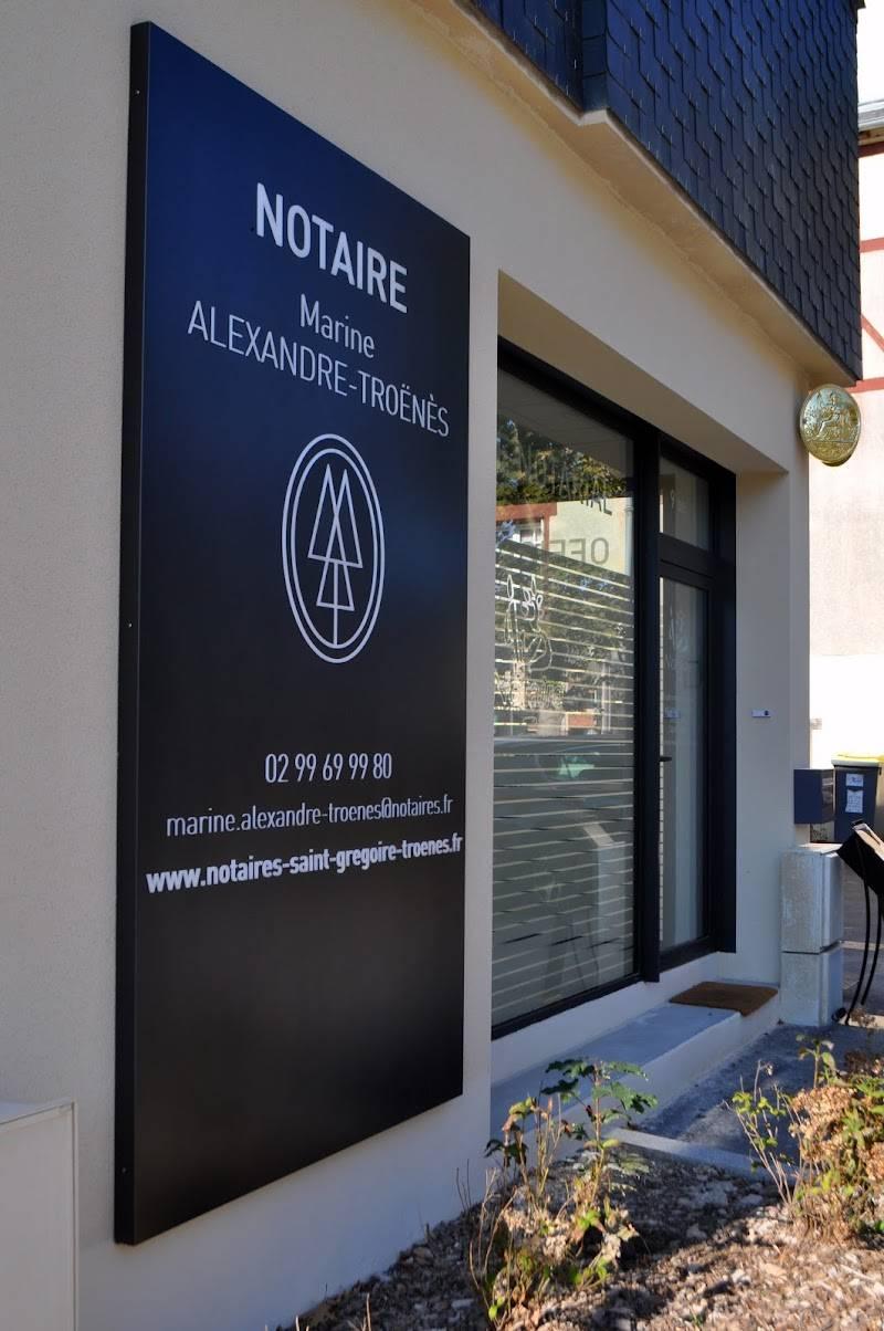Notaires ALEXANDRE TROENES à SAINT GRÉGOIRE