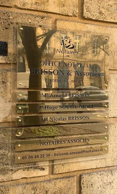 Office Notarial de BORDEAUX