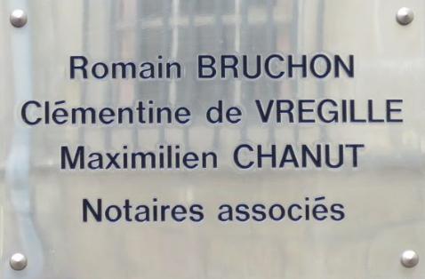Notaires BRUCHON COURLET VREGILLE CHANUT à DIJON