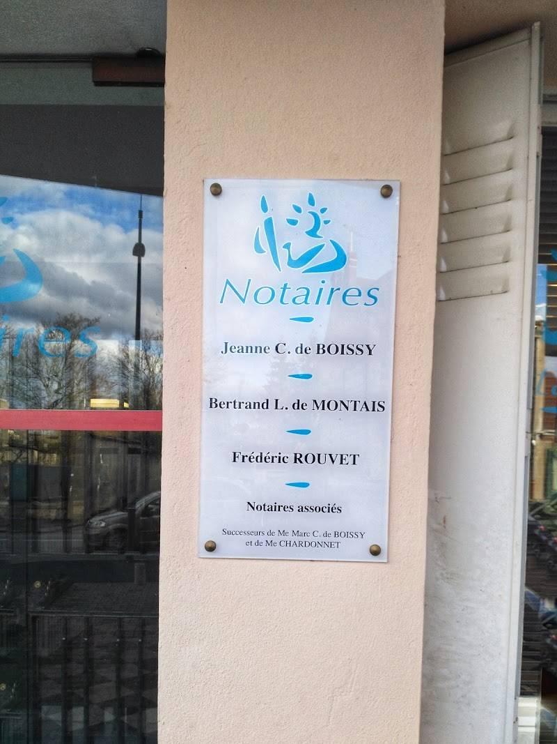 Notaires CARRIER BOISSY LABBE MONTAIS ROUVET à CUSSET