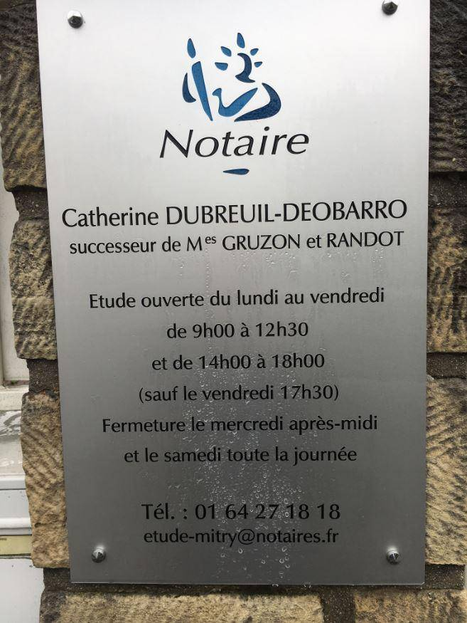 Office Notarial de MITRY MORY