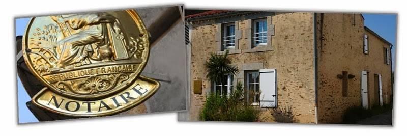 Contactez l'office Notarial de LE POIRÉ SUR VIE au 0251318008
