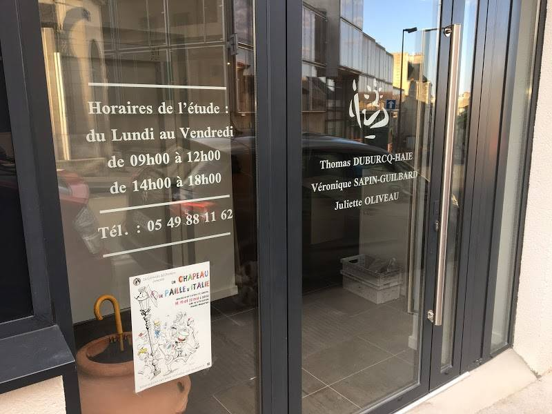 Office Notarial de POITIERS