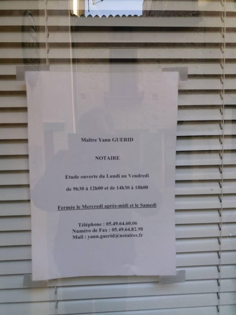 Contactez l'office Notarial de ST LOUP LAMAIRE au 0549646006