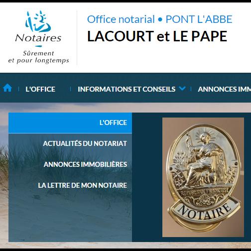 Contactez l'office Notarial de PONT L ABBE au 0298870032