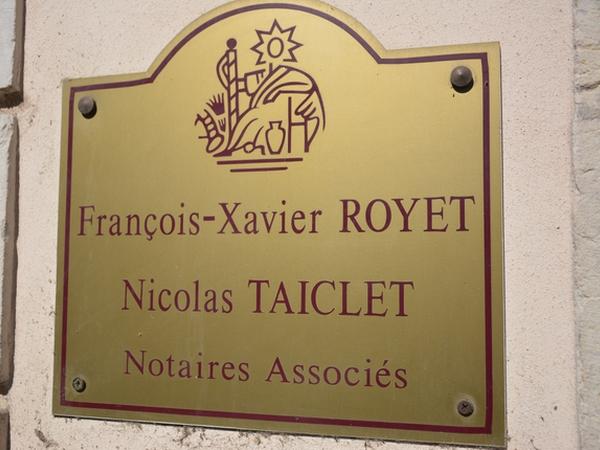 Notaires ROYET TAICLET à NUITS SAINT GEORGES