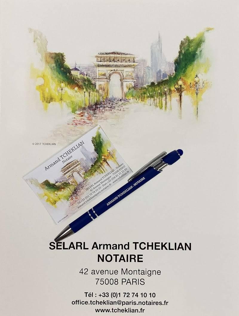 Notaires TCHEKLIAN à PARIS
