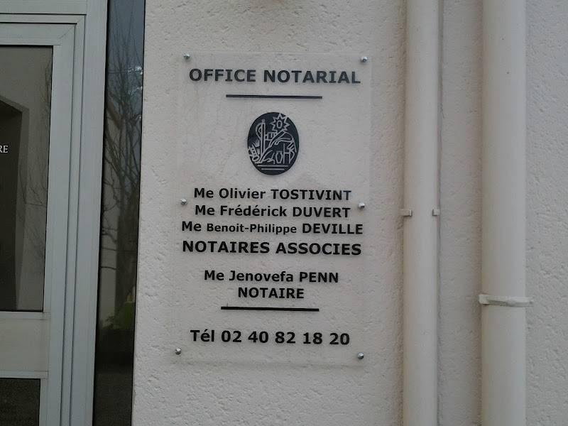 Notaires TOSTIVINT DUVERT DEVILLE à PORNIC